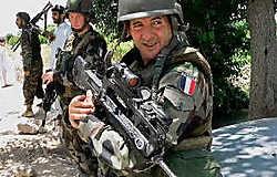 Kabul was enkele jaren geleden een relatief risicoloze standplaats, nu zijn de Isaf-soldaten regelmatig het doelwit van aanslagen.epa<br>