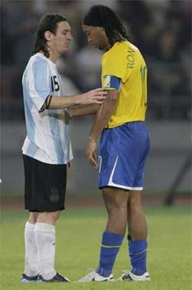 Ronaldinho: 'Kan pijn niet beschrijven'
