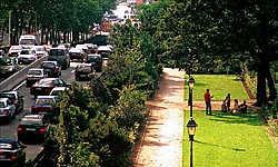 De Kruidtuin langs de Brusselse Kleine Ring. put<br>