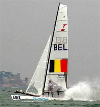 OS Zeilen: Zeilduo Godefroid en Brouwer mag niet naar medaillerace