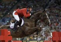Walter Van Bunder is trots dat zijn Sapphire bijdroeg tot de gouden medaille van het Amerikaanse jumpingteam.