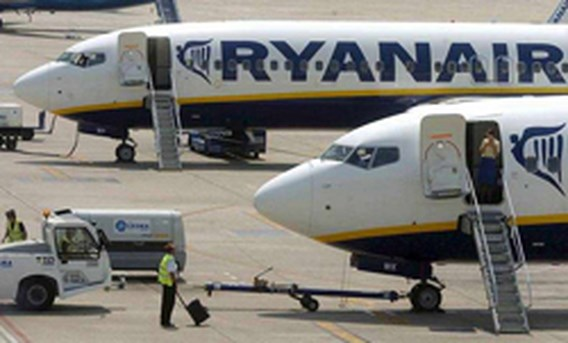 Ryanair-vluchten tussen Charleroi en Corsica opgeschort