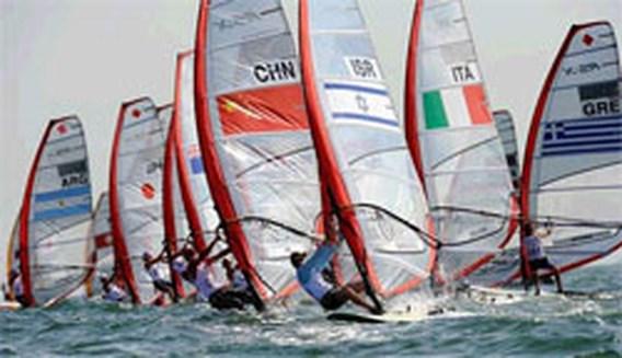 OS Zeilen: Surfster Yin Jian bezorgt China allereerste zeilgoud