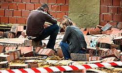 De familie <br>is diep aangeslagen op de plaats van het ongeval.<br>Yorick Jansens