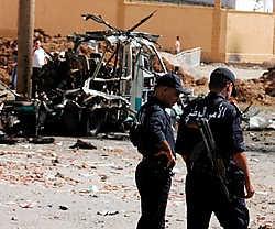 De bomaanslag in Bouira, 120 kilometer ten oosten van Algiers, kostte aan elf mensen het leven.epa<br>