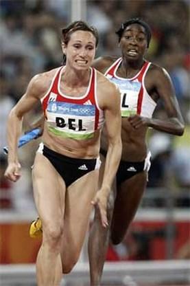 OS Atletiek: Belgische meisjes naar finale, Amerikanen eruit