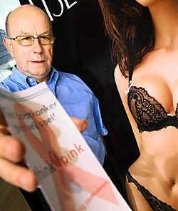 Burgemeester Herman De Loor zet zich volledig achter de actie Think Pink. 'Het is de bedoeling om Zottegem in oktober roze te kleuren.' David Stockman