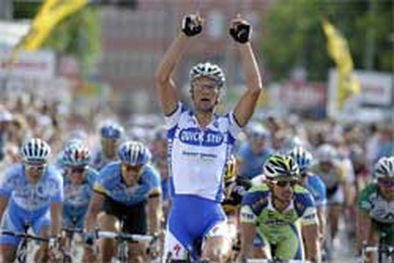 Tom Boonen wint eerste rit Eneco Tour