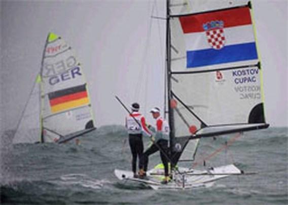 OS Zeilen: Ook Italië vecht Deense winst aan bij het TAS