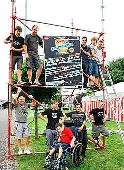 De medewerkers van Rock Eikerheide zijn fier op het programma dat ze dit jaar samenstelden.<br>Eddy Van Ranst<br>