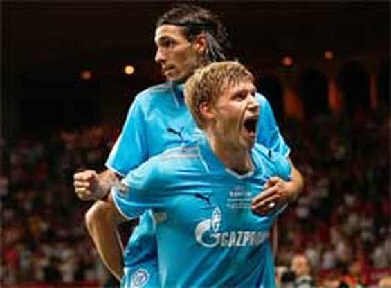 Zenit Sint-Petersburg wint Europese Super Cup