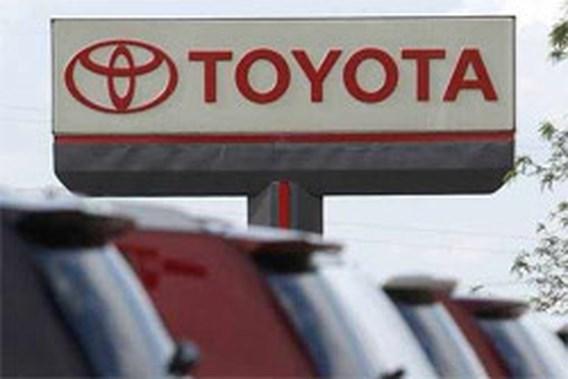 Toyota verder in de rode cijfers