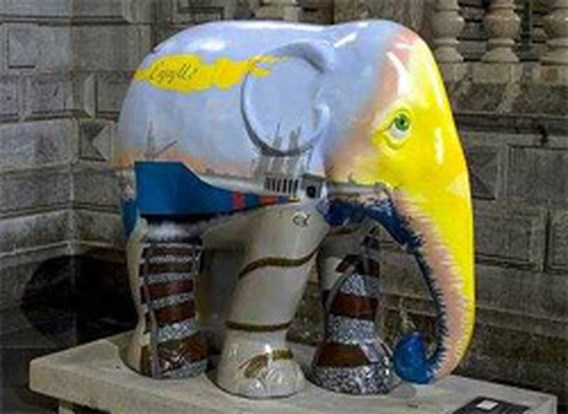 Veiling Antwerpse Elephant Parade levert 477.900 euro op