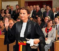 Anne-Marie Gepts, de nieuwe procureur des Konings van Mechelen: 'Ik wil vooral de gerechtelijke achterstand zoveel mogelijk wegwerken.'