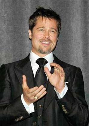 Brad Pitt stopt met joints voor kinderen
