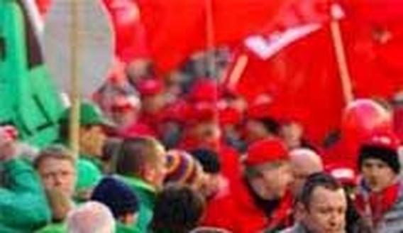 Europese vakbond probeert brokken tussen ABVV en ACV te lijmen
