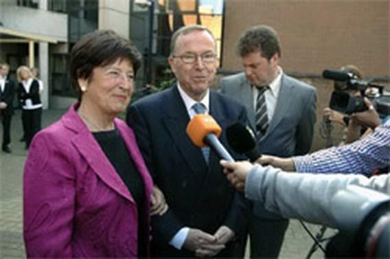 Wilfried Martens en Miet Smet getrouwd