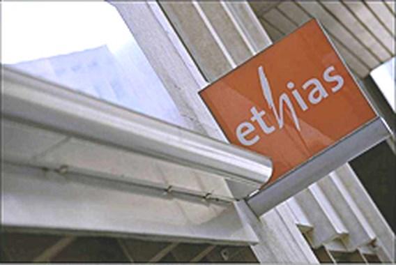Ethias Leven nog 100 euro waard