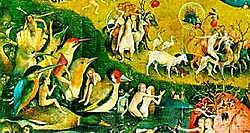 'De tuin der lusten' van Jeroen Bosch (fragment).rr <br>