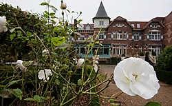 Limburg, vaak mooi in kleine dingen, zoals hier aan het Kasteel van Wurfeld in Maaseik. <br>Mine Dalemans