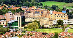 Het Ronsese ziekenhuis (foto) stapt in een ziekenhuis groep met het <br>Onze-Lieve- Vrouw- ziekenhuis van Aalst en AZ Sint-Blasius in Dendermonde. David Stockman