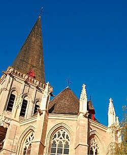 Het hoogkoor van de Sint-Martinuskerk is na meer dan honderd jaar weer versierd met acht pinakels. Rudy De Saedeleir