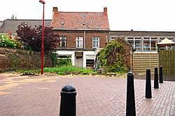 De kinderopvang zal ook te bereiken zijn vanop de parking van Het Portaal, een praktische en veilige toegang voor ouders die hun kindjes afzetten. <br>Frank Meurisse<br>