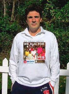 Smekens is inmiddels al vier maanden aan het trainen voor de marathon van New York.if