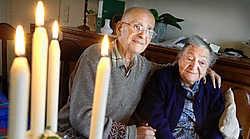 Petrus Lintermans en Jeanne-Alice Tichelaar delen zeventig jaar lief en leed. David Stockman