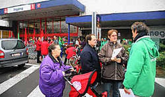 Stakingen Carrefour goed nieuws voor armen