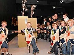 De nieuwe museumjasjes werden voorgesteld op de Stradanus-tentoonstelling in het Groeningemuseum. Michel Vanneuville<br>