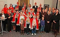 De Orde van de Drie Sleutels telt af naar 14 en 15 maart: het carnavalsweekend met als thema het schlagerfestival. Frank Meurisse