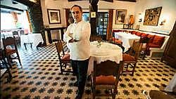 Ferran Adria in zijn restaurant El Bulli in Cala Montjoi, aan de Costa Brava. photo news<br>