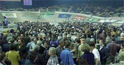 Dinsdag klinkt de bel een eerste keer voor de Gentse Zesdaagse 2008.blg