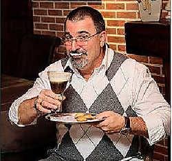 Tijdens de kerstmarkt kan het publiek voor het eerst kennismaken met de koffie van Danny Smits. if <br>