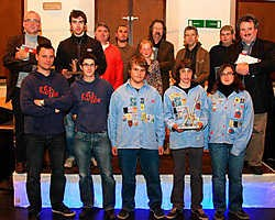 De wedstrijd kampen bouwen werd gewonnen door de Chirogroep van Voormezele voor KSA Ieper en KSJ Elverdinge. Bart Vandenbroucke