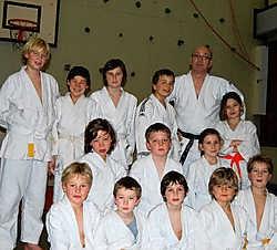 De judoclub van Linkebeek beleeft vandaag een hoogdag in zijn bestaan. J. Schepers