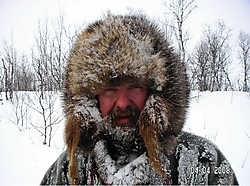 Eric Pireyn begeleidt expedities met de hondenslee in Lapland. if<br>