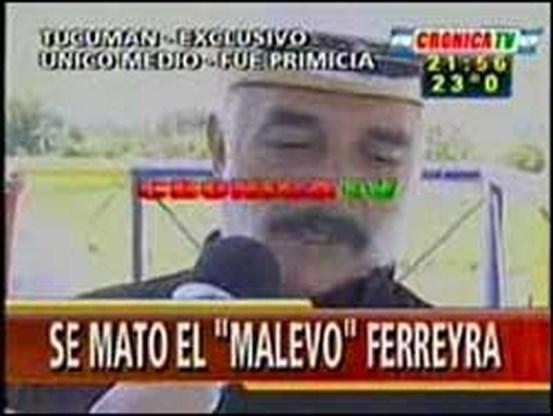 Argentijn pleegt zelfmoord op televisie