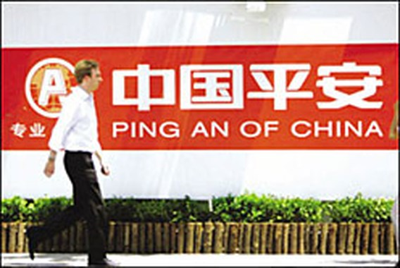Ping An schakelt Peking in voor compensatie Fortis