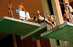 Het huidige Olympiazwembad kan dienen als sporthal, wanneer er een nieuw olympisch zwembad komt. Michel Vanneuville<br>