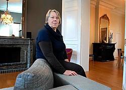 Gastvrouw Francine Van Asbroeck wil in het Kringelhof ook tijdelijke tentoonstellingen organiseren. <br>Yvan De Saedeleer<br>