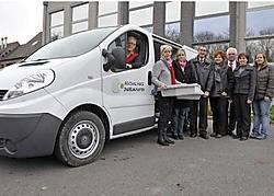 De wagen, een Renault Traffic, werd helemaal ingericht volgens de strengste hygiënische normen en kost zo'n 26.000 euro. Frank Meurisse<br>