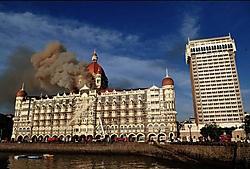 Het Taj-hotel is het gezicht van het rijke zuiden van Mumbai en van het moderne India dat mee is met de globalisering. pn