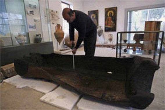 Prehistorische kano ontdekt in Zwarte Zee