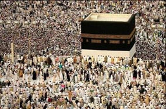 Drie miljoen bedevaartgangers bij Mekka
