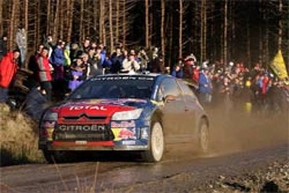 Loeb wint Rally van Groot-Brittannië