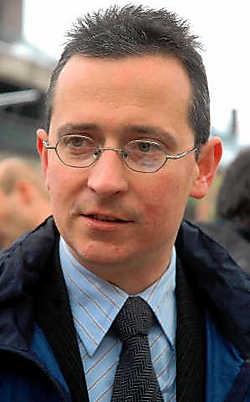Burgemeester Tom Van Herreweghe kondigde aan dat hij de politiek verlaat. Carol Verstraete<br>