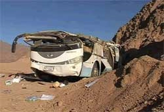 Zes toeristen omgekomen bij ongeval met bus in Egypte