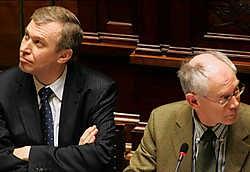 Nu hij de stap gezet heeft, zal Herman Van Rompuy weinig geneigd zijn om na vijf maanden de fakkel al door te geven aan Yves Leterme. photo news<br>